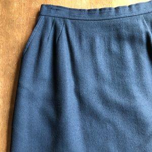 Evan Picone Black Skirt Size 8